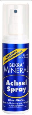 Bekra Mineral Underarm Spray desodorizante mineral em spray