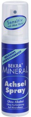 Bekra Mineral Underarm Spray desodorante mineral en spray  con aloe vera