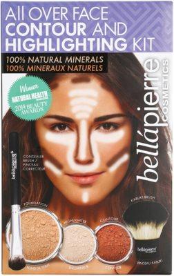 BelláPierre All Over Contour and Highlighting Kit kozmetika szett I.