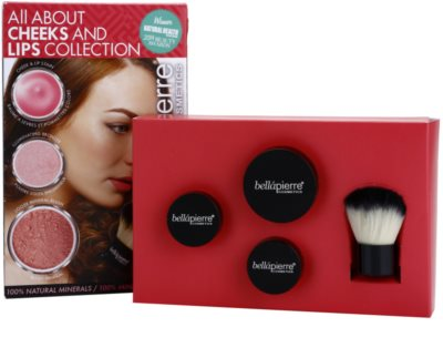BelláPierre All About Cheeks and Lips Collection Coral Collection kozmetika szett II. 2