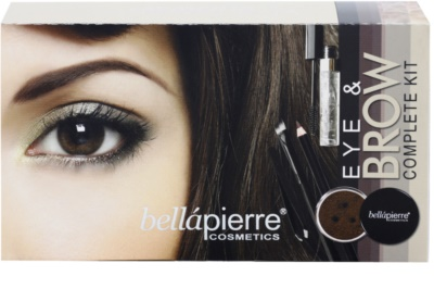 BelláPierre Eye and Brow Complete Kit lote cosmético II.