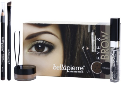 BelláPierre Eye and Brow Complete Kit set cosmetice II. 1