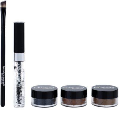 BelláPierre Eye & Brow Matte Shimmer Kit козметичен пакет  I. 1