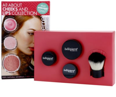 BelláPierre All About Cheeks and Lips Collection Pink Collection set cosmetice I. 2