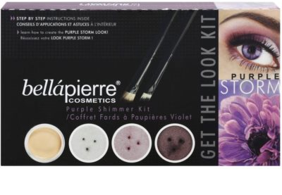BelláPierre Get The Look Kit Purple Storm kosmetická sada II.