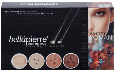 BelláPierre Get The Look Kit Pretty Woman lote cosmético I.