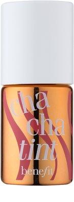 Benefit Chacha Tint colorete líquido y brillo labial