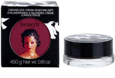 Benefit Creaseless Creme-Eyeliner und Lidschatten 2in1 2