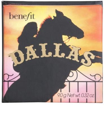 Benefit Dallas autobronzant și blusher 2 in 1 2