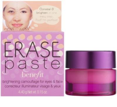 Benefit Erase Paste corrector cubre imperfecciones cremoso 3