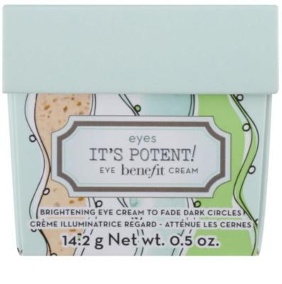 Benefit It´s Potent! роз'яснюючий крем для шкіри навколо очей проти темних кіл 2