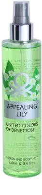 Benetton Appealing Lily testápoló spray nőknek