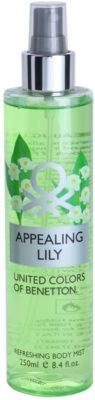 Benetton  Appealing Lily спрей для тіла для жінок