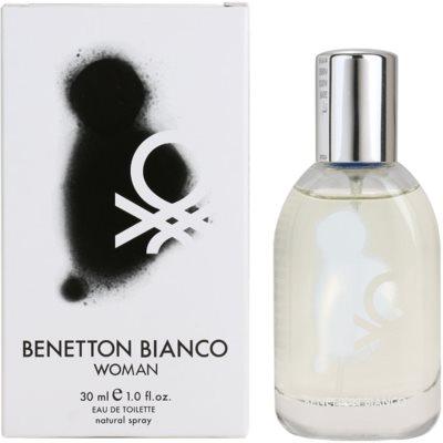 Benetton Bianco Eau de Toilette para mulheres