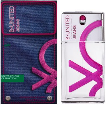 Benetton B. United Jeans Women Eau de Toilette für Damen