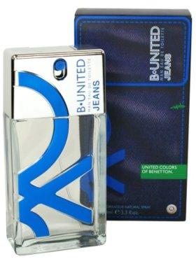 Benetton B. United Jeans Man Eau de Toilette pentru barbati