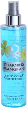 Benetton Charming Frangipani tělový sprej pro ženy