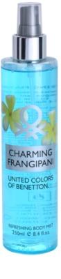 Benetton Charming Frangipani testápoló spray nőknek