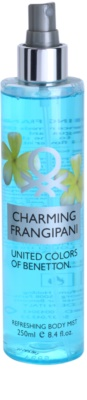 Benetton Charming Frangipani testápoló spray nőknek 1