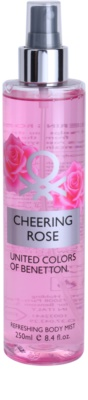 Benetton Cheering Rose spray corporal para mujer