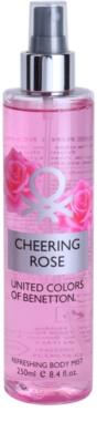 Benetton Cheering Rose tělový sprej pro ženy