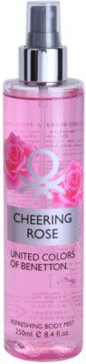 Benetton Cheering Rose testápoló spray nőknek