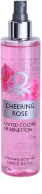 Benetton Cheering Rose spray corporal para mujer 1