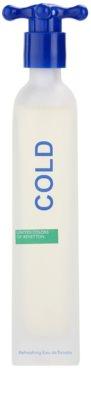 Benetton Cold Eau de Toilette für Herren 1
