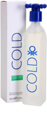 Benetton Cold Eau de Toilette für Herren 4