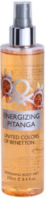 Benetton Energizing Pitanga testápoló spray nőknek