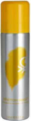 Benetton Giallo dezodorant w sprayu dla kobiet