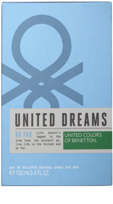 Benetton United Dreams Men Go Far eau de toilette férfiaknak 3