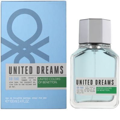 Benetton United Dreams Men Go Far eau de toilette férfiaknak