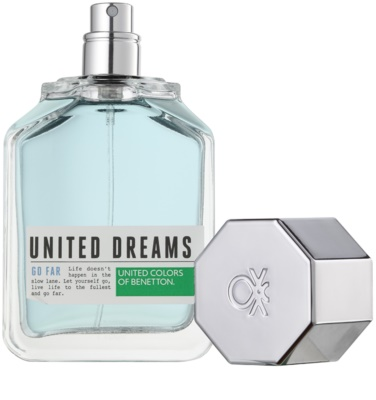 Benetton United Dreams Men Go Far eau de toilette para hombre 2