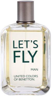 Benetton Let's Fly eau de toilette para hombre 2