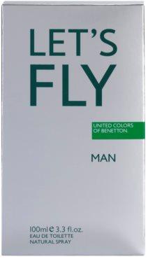 Benetton Let's Fly eau de toilette para hombre 4