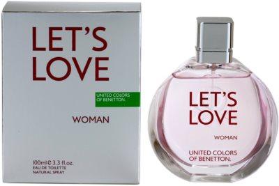 Benetton Let's Love eau de toilette nőknek