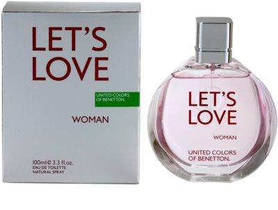 Benetton Let's Love Eau de Toilette para mulheres