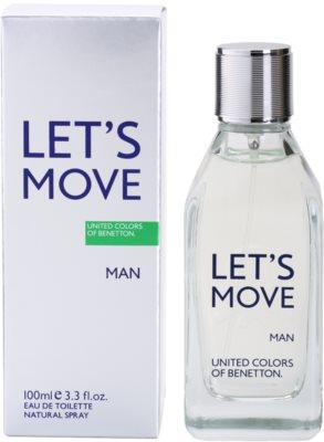 Benetton Let´s Move eau de toilette férfiaknak