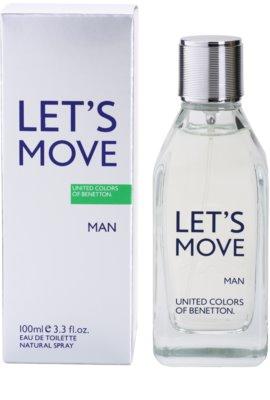 Benetton Let´s Move Eau de Toilette für Herren