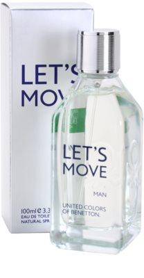 Benetton Let´s Move Eau de Toilette für Herren 1