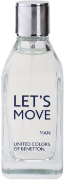 Benetton Let´s Move Eau de Toilette für Herren 2