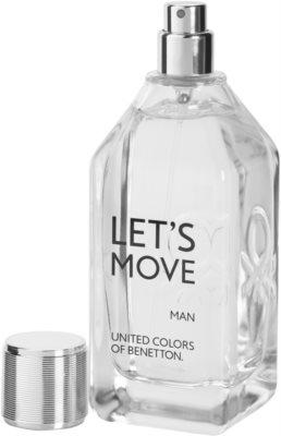 Benetton Let´s Move Eau de Toilette für Herren 3