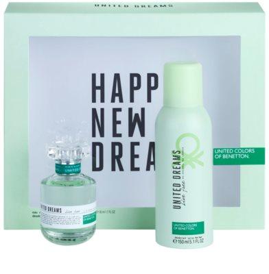 Benetton United Dreams Live Free coffrets presente