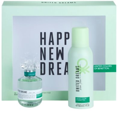 Benetton United Dreams Live Free подарункові набори