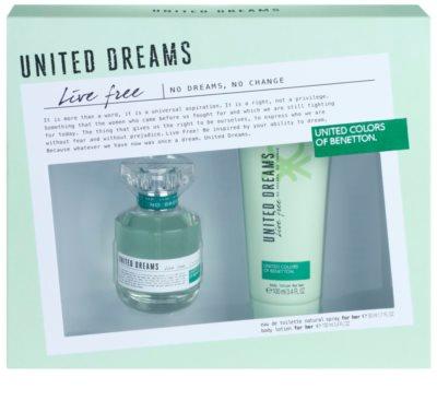 Benetton United Dreams Live Free dárková sada 2