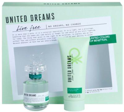 Benetton United Dreams Live Free dárková sada