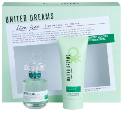 Benetton United Dreams Live Free lote de regalo
