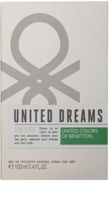 Benetton United Dream Men Aim High eau de toilette para hombre 3