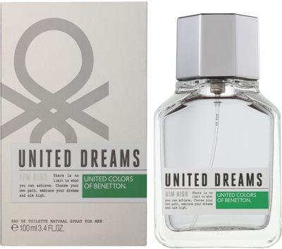 Benetton United Dream Men Aim High eau de toilette para hombre